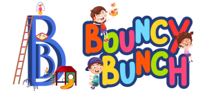Bouncy Bunch Logo- Biggest Interactive Soft Play Area