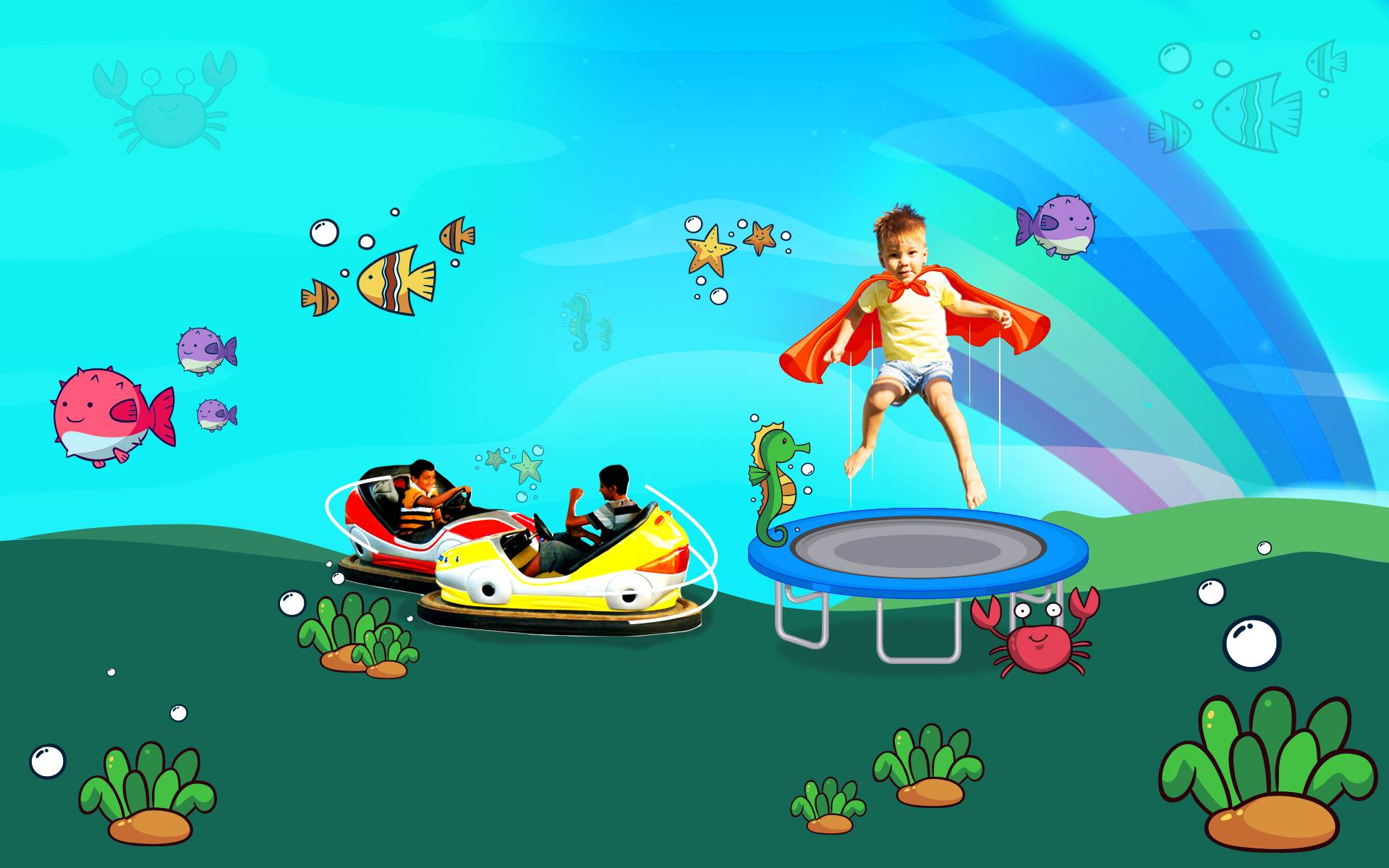 Places for Bumper Car | Bouncy Bunch in Indore